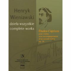 Etudes-Caprices Op. 18 for Violin