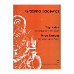 Three Dances for Violin and Piano