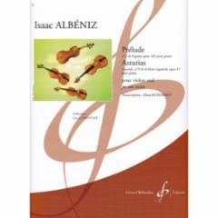 Prelude and Asturias for Solo Violin