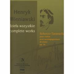 Scherzo-Tarantelle, Op.16 for Violin and Piano