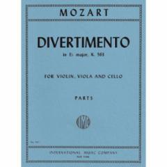 Divertimento in E-Flat Major, K.563 for Violin, Viola and Cello