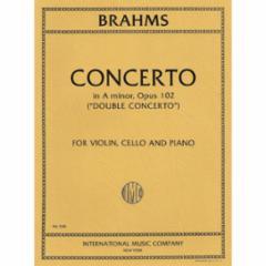 Double Concerto in A Minor Op. 102 for Violin, Cello and Piano