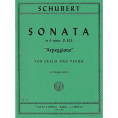 Sonata in A Minor (Arpeggione) for Cello