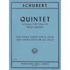 Quintet in A Major, Op. 114 (Trout Quintet)