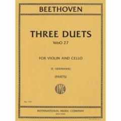 Three Duets for Violin and Cello