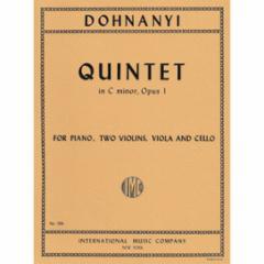 Quintet in C Minor, Op. 1 ( Piano, Two Violins, Viola and Cello)