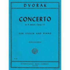Concerto in A Minor, Op. 53 for Violin