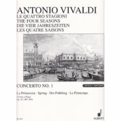 Concerto (Spring), Op.8, No.1 for Violin