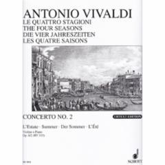 Concerto (Summer), Op.8, No.1for Violin