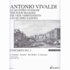 Concerto (Autumn), Op.8, No.1 for Violin