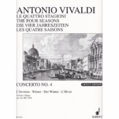 Concerto (Winter), Op.8, No.1 for Violin