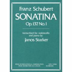 Sonatina, Op. 137, No. 1 for Cello and Piano