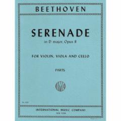Serenade in D Major, Op. 8 for Violin, Viola and Cello