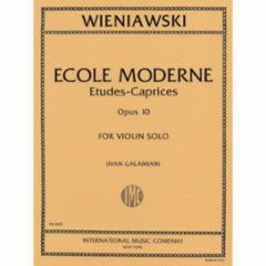 Ecole Moderne 10 Etudes-Caprices, Op. 10 for Violin