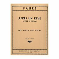 Apres un Reve (After a Dream) for Viola and Piano