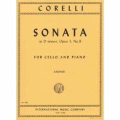Sonata in D Minor, Op. 5, No. 8 (Cello)
