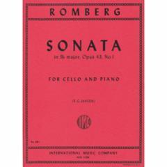 Sonata in Bb Major, Op. 43, No. 1 for Cello