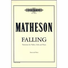 Falling for Violin, Cello and Piano