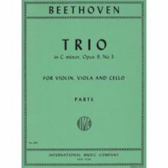 Trio in C Minor, Op. 9, No. 3 for Violin, Viola and Cello