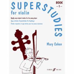 Superstudies for Violin: Book 1