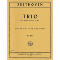 Trio in G Major, Op. 9, No. 1 for Violin, Viola and Cello