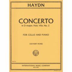 Concerto in D Major, Hob. VIIb:2