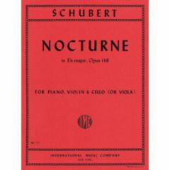 Nocturne in Eb Major, Op. 148 for Piano, Violin and Cello (or Viola)