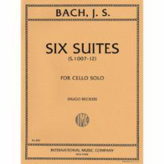 Six (Cello) Suites: (Becker Edition)
