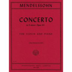 Concerto in E Minor, Op. 64 for Violin and Piano