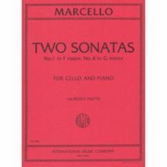 Two Sonatas No. 1 in F Major and No. 4 in G Minor (Cello)