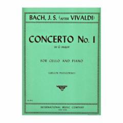 Concerto No. 1 in G Major, after Vivaldi for Cello and Piano
