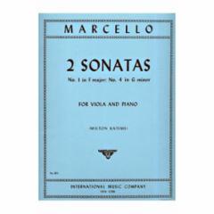 Two Sonatas (F Major and G Minor: Viola and Piano)