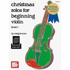 Christmas Solos for Beginning Violin/Viola/Cello