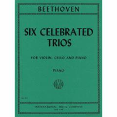 Six Celebrated Trios for Violin, Cello and Piano