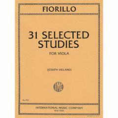 31 Studies for Viola