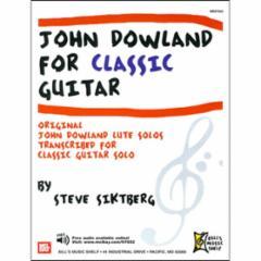 John Dowland for Classic Guitar