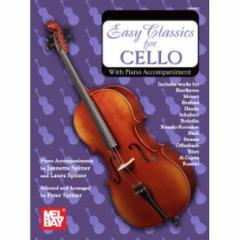 Easy Classics for Cello (with Piano Accompaniment)