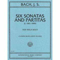 Six (Violin) Sonatas and Partitas for Viola