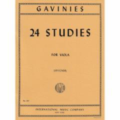 24 Studies for Viola