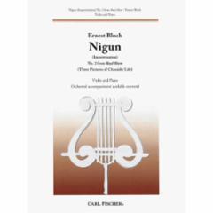 Nigun No. 2 from  Baal Shem for Violin