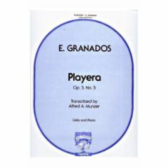 Playera (Spanish Dance No. 5) for Cello and Piano