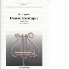 Danse Rustique, Op. 20, No. 5 for Cello and Piano