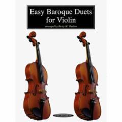 Easy Baroque Duets for Violin