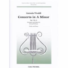 Concerto in A Minor, Op.3, No.6 (Violin)