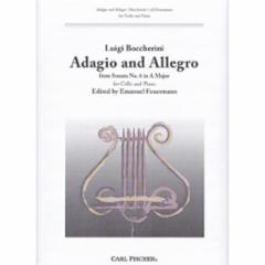 Adagio and Allegro from Sonata No. 6 for Cello and Piano