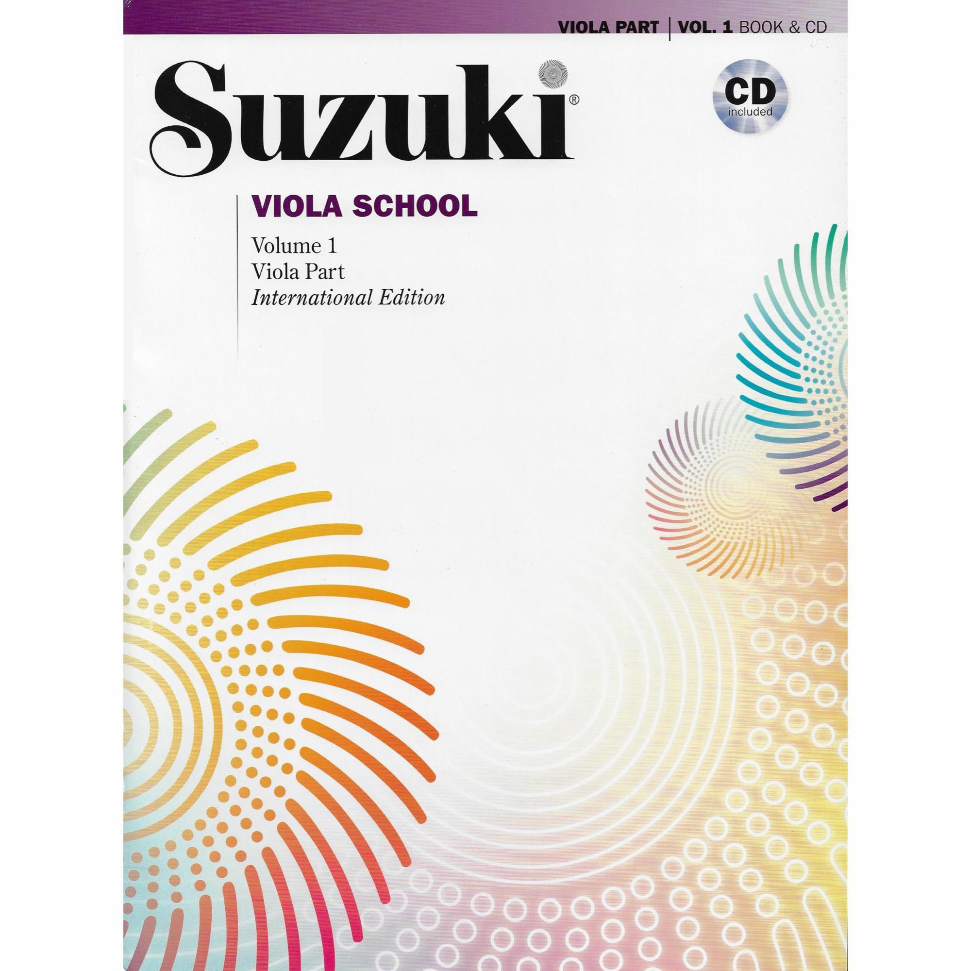 suzuki viola school book and cd bo pack southwest strings