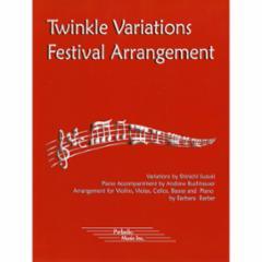 Twinkle Variations Festival Arrangement