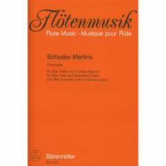Promenades for Flute, Violin, and Harpsichord (Piano)