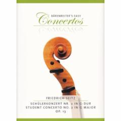 Concerto No. 2 in G Major, Op. 13 for Violin