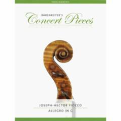 Allegro in G for Violin and Piano